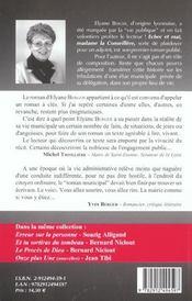 Echec Et Mat Madame La Conseillere ; Au Paradis Des Elus - 4ème de couverture - Format classique