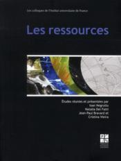 Ressources - Couverture - Format classique