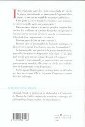 Contretemps ; La Grande Méprise ; Justice Internationale, Gouvernement Mondial, Guerre Juste - 4ème de couverture - Format classique