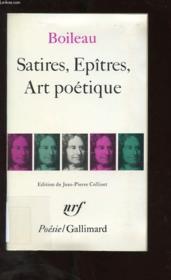 Satires / Epitres / Art Poetique - Couverture - Format classique