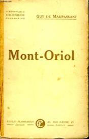 Mont Oriol. - Couverture - Format classique