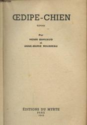 Oedipe Chien - Couverture - Format classique