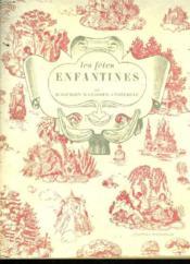 LES FÊTES ENFANTINES. PREMIER VOLUME. 2e EDITION. - Couverture - Format classique