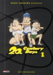 20th century boys - deluxe T.1 - Couverture - Format classique