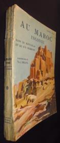 Au Maroc Inconnu, dans le haut-Atlas et le sud marocain - Couverture - Format classique