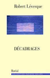Decadrages - Couverture - Format classique