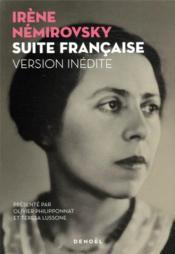 Suite française ; tempête en juin, le manuscrit retrouvé - Couverture - Format classique