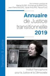 Annuaire de justice transitionnelle (édition 2019) - Couverture - Format classique