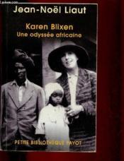Karen blixen - Couverture - Format classique