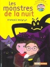Le petit monde de mademoiselle Prout t.1 ; les monstres de la nuit - Couverture - Format classique