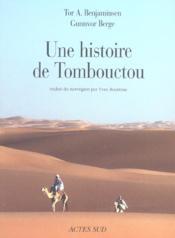 Une Histoire De Tombouctou - Couverture - Format classique