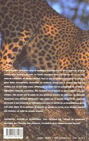 Le peuple léopard - 4ème de couverture - Format classique