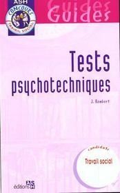 Test psychotechniques - Intérieur - Format classique