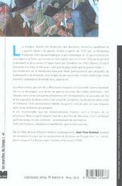 L'invention de la guerre totale, xviii-xx siecle - 4ème de couverture - Format classique