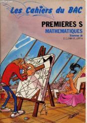 Premieres s math t.2 - Couverture - Format classique