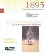 REVUE 1895 N.39 ; pyrotechnies ; une histoire de cinéma incendiaire - Intérieur - Format classique