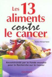 Les 13 aliments anti-cancer - Intérieur - Format classique