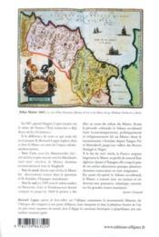 Histoire du Maroc ; des origines à nos jours - 4ème de couverture - Format classique