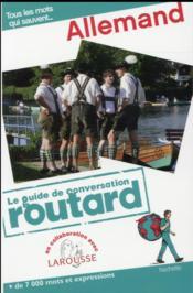 Le Guide De Conversation Routard ; Allemand - Couverture - Format classique