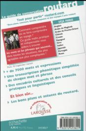 Le Guide De Conversation Routard ; Allemand - 4ème de couverture - Format classique