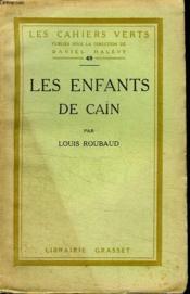 Les Enfants De Cain. - Couverture - Format classique