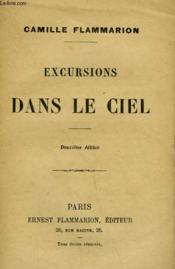 Excursions Dans Le Ciel. - Couverture - Format classique
