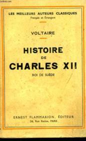 Histoire De Charles Xii. Roi De Suede. - Couverture - Format classique