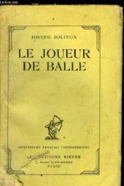 Le Joueur De Balle - Couverture - Format classique
