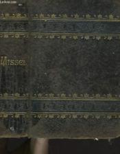 Missel Romain. Les Offices De Tous Les Dimanches Et Des Principales Fetes De L'Annee - Couverture - Format classique