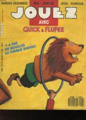 Jouez Avec Quick & Flupke - N°5 - Couverture - Format classique