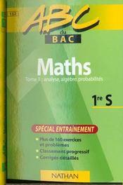 Maths S Exercices Vol.1 - Intérieur - Format classique