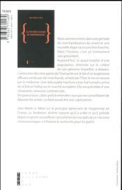 Dépistage prénatal de la trisomie 21 ; les premières victimes du transhumanisme - 4ème de couverture - Format classique