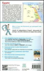 Guide du Routard ; Egypte (édition 2018) - 4ème de couverture - Format classique