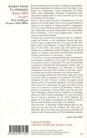 Le séminaire t.19 ; ...ou pire - 4ème de couverture - Format classique