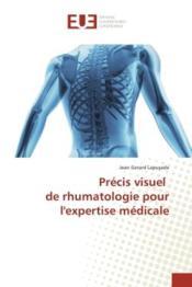 Precis visuel de rhumatologie pour l'expertise medicale - Couverture - Format classique