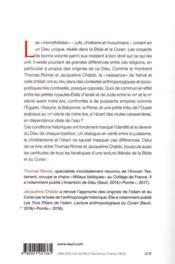 Dieu de la Bible, Dieu du Coran ; entretiens avec Jean-Louis Schlegel - 4ème de couverture - Format classique