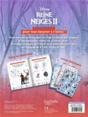 1000 stickers ; la Reine des Neiges 2 - 4ème de couverture - Format classique
