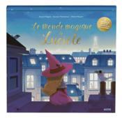 Le monde magique de Luciole ; un livre en papiers découpés lumineux - Couverture - Format classique