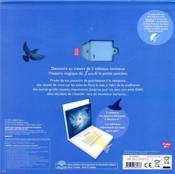 Le monde magique de Luciole ; un livre en papiers découpés lumineux - 4ème de couverture - Format classique