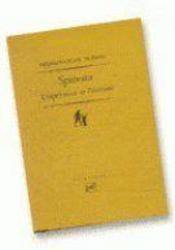 Spinoza, l'expérience et l'éternité - Couverture - Format classique