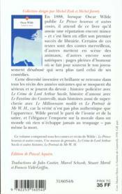 Contes et recits - 4ème de couverture - Format classique