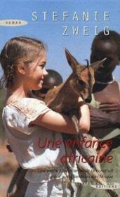 Une enfance africaine - Couverture - Format classique