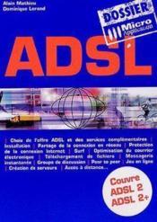 Dossier adsl - Couverture - Format classique