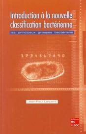 Introduction A La Nouvelle Classification Bacterienne Les Principaux Groupes Bacteriens - Intérieur - Format classique
