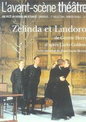REVUE L'AVANT-SCENE THEATRE N.1205 ; Zelinda et Lindoro - Intérieur - Format classique