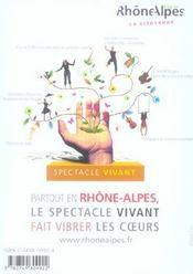 REVUE L'AVANT-SCENE THEATRE N.1205 ; Zelinda et Lindoro - 4ème de couverture - Format classique
