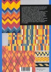 Marqueterie de paille - 4ème de couverture - Format classique