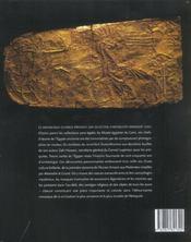 Tresors caches de l'egypte - 4ème de couverture - Format classique