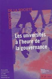 La gouvernance des universités - Couverture - Format classique