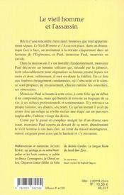 Vieil Homme Et L'Assassin - 4ème de couverture - Format classique